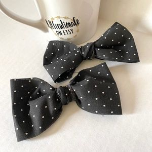 Other - Set of Two Polka Dot Bow Clips
